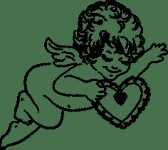 Angel keepsake symbol