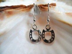 Good luck horseshoe earrings