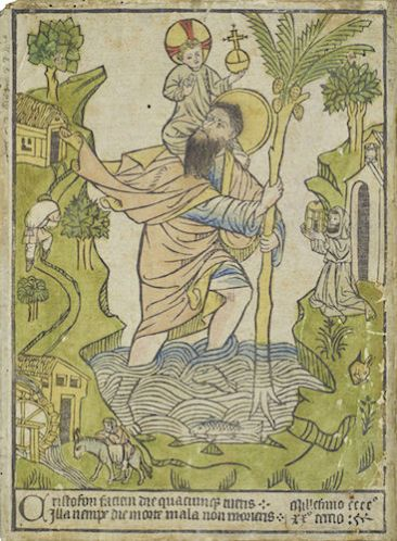 St Christopher meaning travel in safety