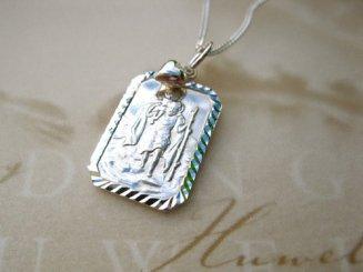 St Christopher pendant