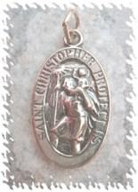 ciondolo talismano San Cristoforo
