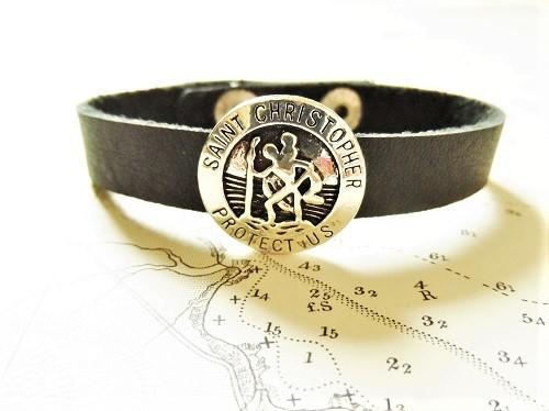 St Christopher bracelet