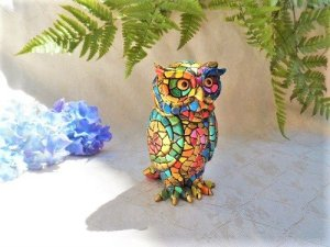 Guardian owl figurine gift for retirement