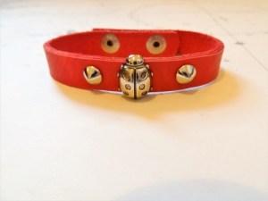 Lucky ladybird bracelet