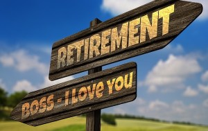 Retiring from the office job