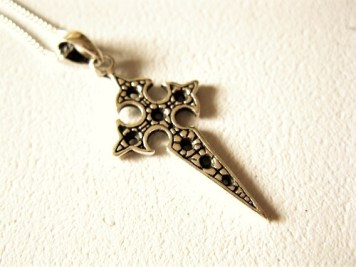 Travellers Cross necklace