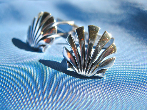 Christmas gift Santiago cufflinks