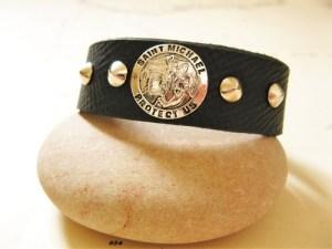 Saint Michael bracelet to wish safekeeping