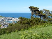 Overlooking St Ives Cornwall