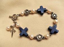 Christian Sodalite bracelet