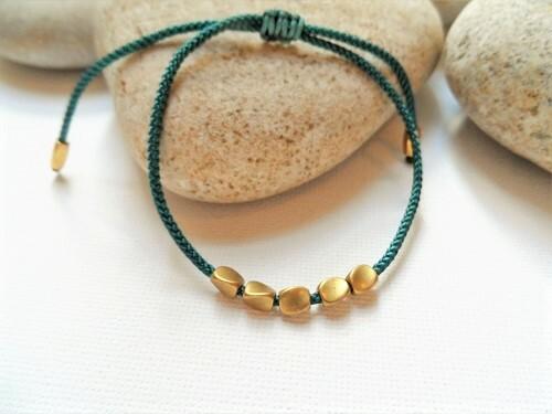 Health Band bracelet copper teal2