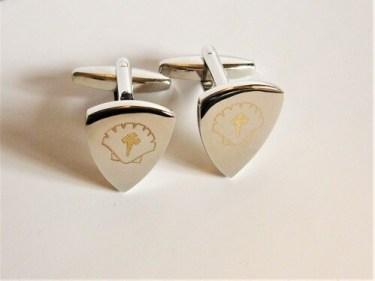 sAfe Jewellery Shield cufflinks