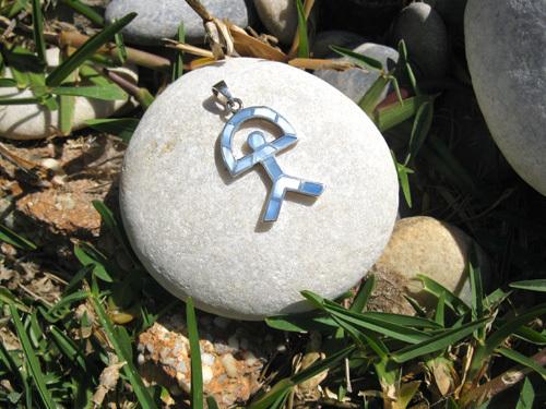 Indalo Man pendant for Wellness
