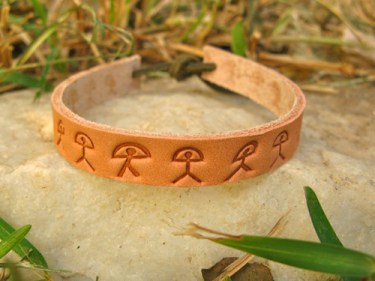 Leather Indalo wellness bracelet