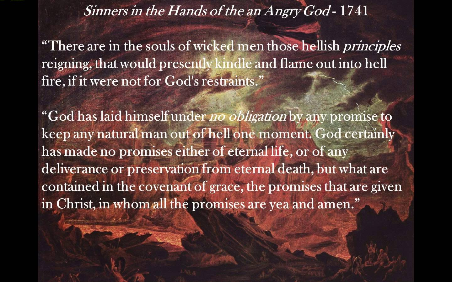 The Good News Today The Terrible Logic Of Hell