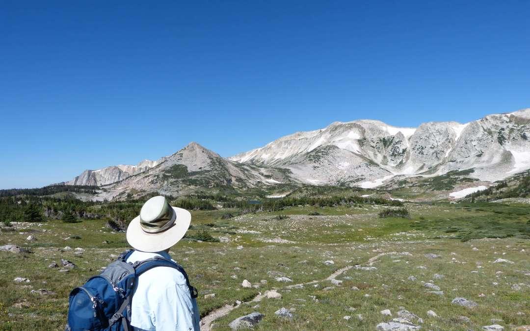 Snowy Range in Medicine Bow-Routt National Forest