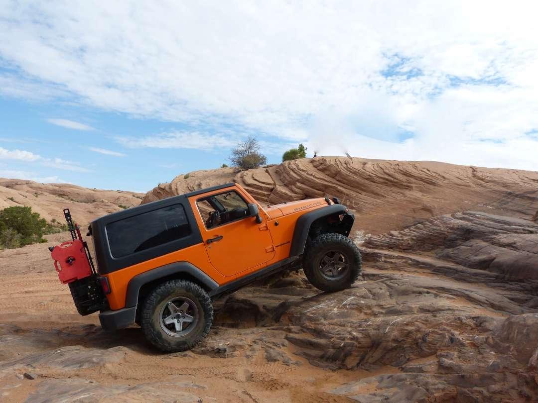 Jeep moab utah