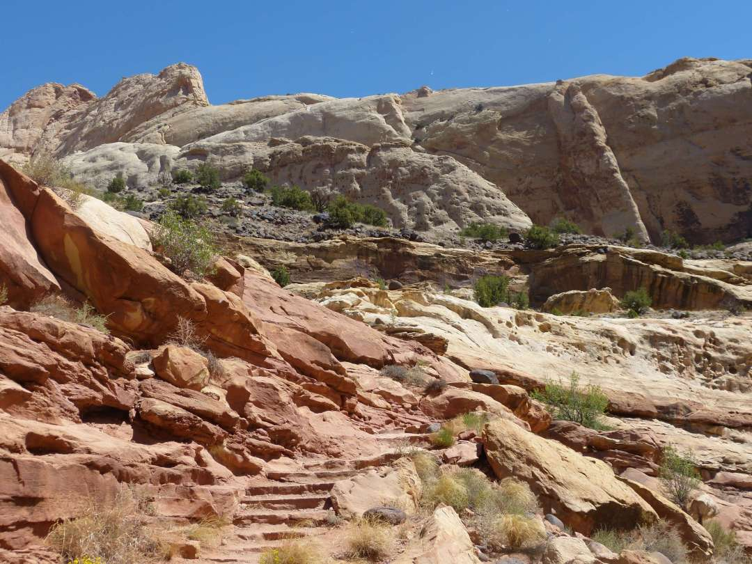 Navavjo Knobs Trail Capital Reef