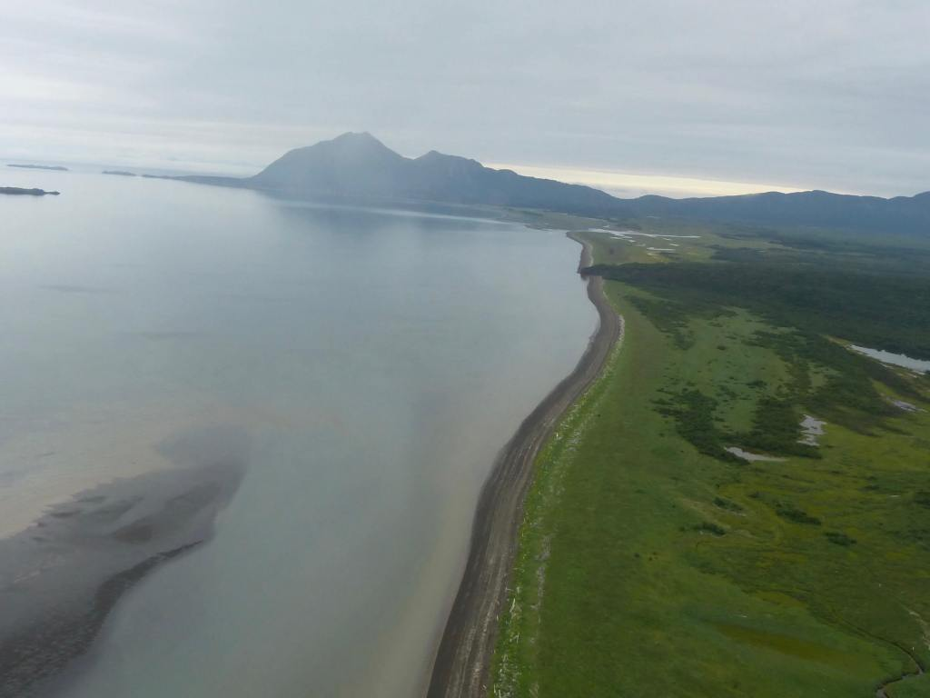 Hallo Bay beach Katmai
