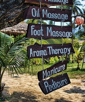 the myriad of massages available