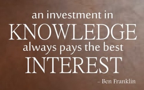 investment in knowledge