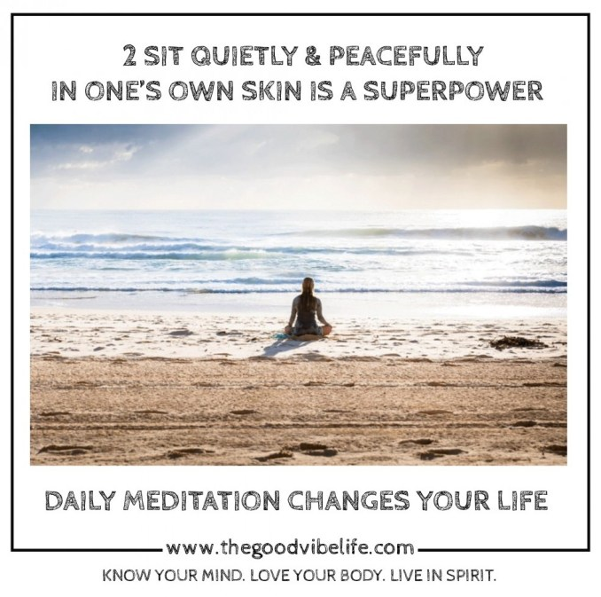 daily meditation changes your life