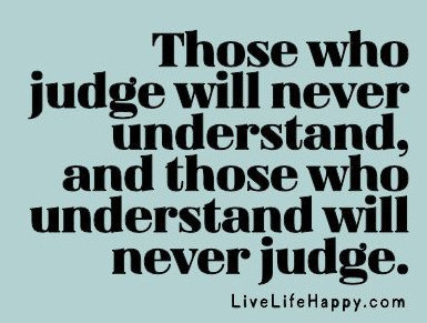 discern not judge