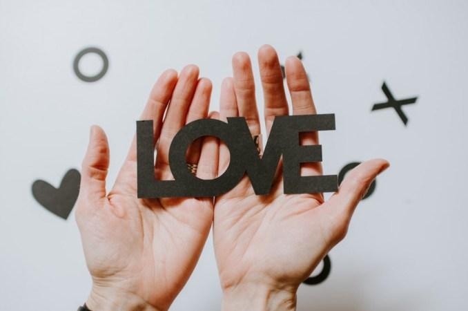 Love in your hands