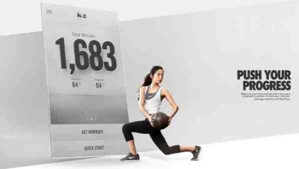 Aplikasi Keluarga Sehat Nike+ Training Club