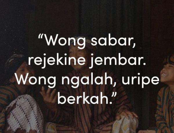 Kata Kata Bijak Bahasa Jawa