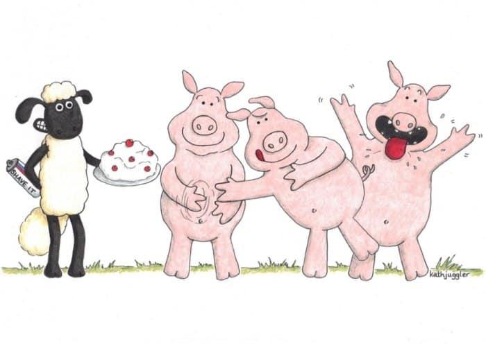 Cerita Fabel Babi dan Domba