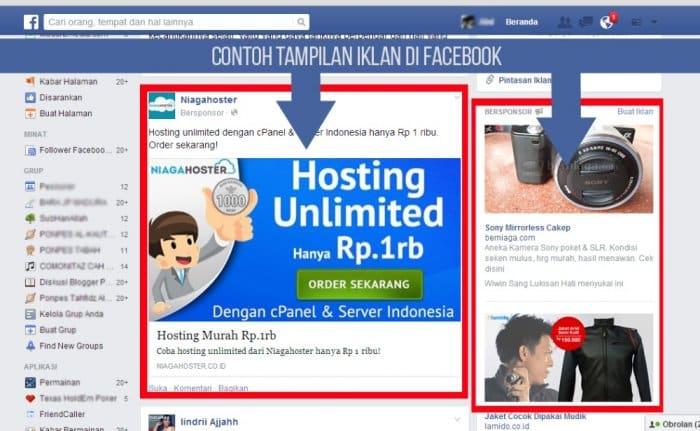 Contoh Iklan Di Facebook
