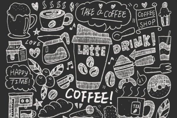 Gambar Doodle Coffee