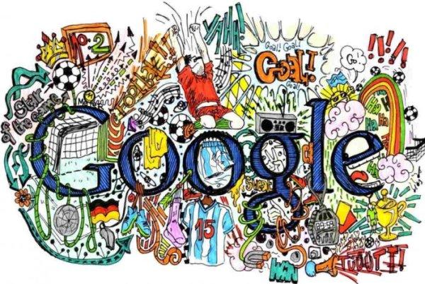 Gambar Doodle Google