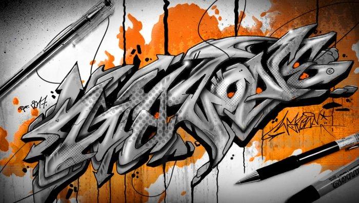 95 Gambar Gambar Keren Grafiti Paling Bagus
