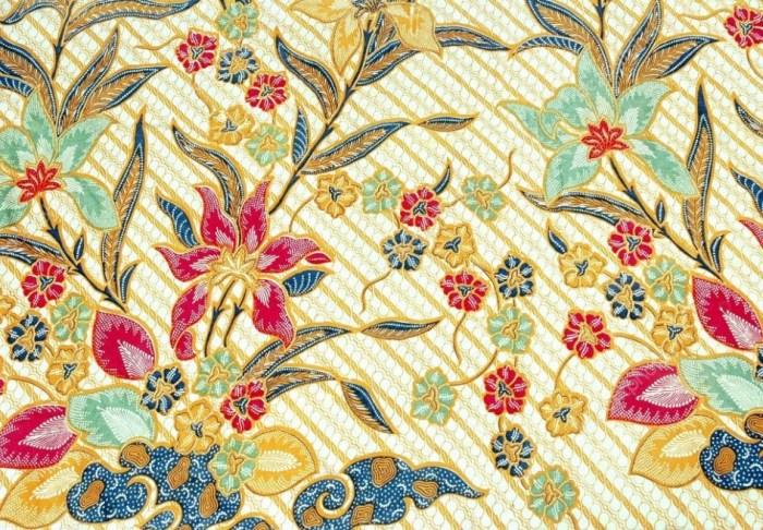 Gambar Abstrak Batik