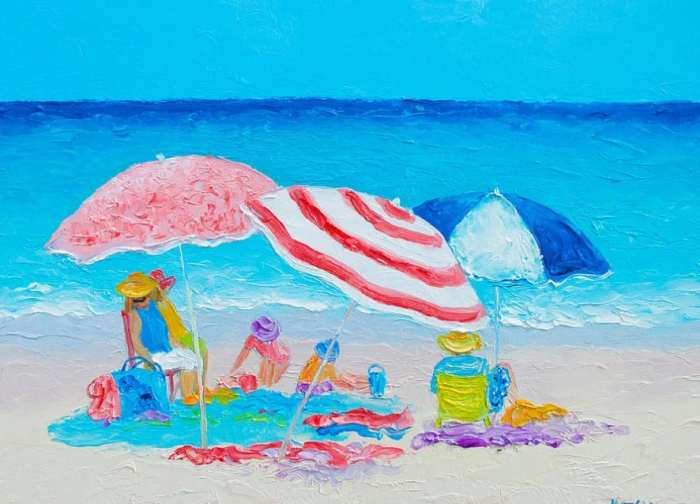 Gambar Ilustrasi Pantai