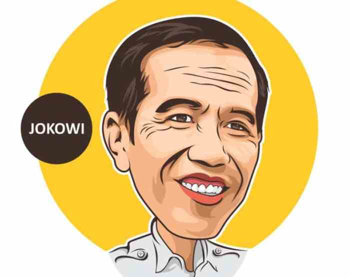 Gambar Karikatu Jokowi
