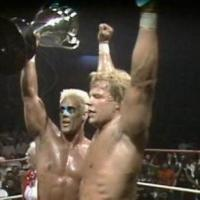 TODAY IN PRO WRESTLING HISTORY... APRIL 23rd: Sting & Luger win The Crockett Cup