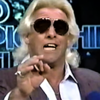 "KAYFABE THEATER: Ric Flair says, ""I don't do NO JOBS in front of 70,000 people."""