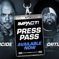 IMPACT WRESTLING PRESS PASS - 09.20.2018: Homicide & Ortiz
