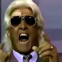 KAYFABE THEATER: Ric Flair talks about Lex Luger getting 20 stitches in his eye