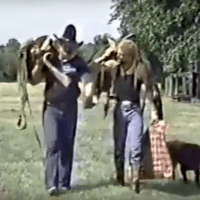 KAYFABE THEATER: Blackjack Mulligan & Kendall Windham - 'A Country Boy Can Survive' Video