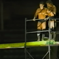 KAYFABE THEATER: The Fantastics challenge Eric Embry & The RPMS to a Scaffold Match