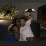 Yvonne Nelson's baby daddy chills with new Black girlfriend