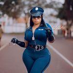Moesha Buduong turns police officer