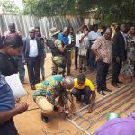 John Mahama Turns Welder In His Quest To Unseating Nana Addo In 2020