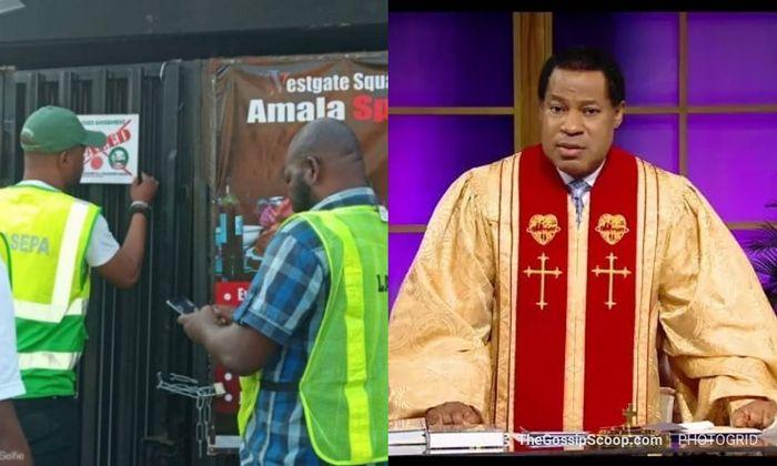 Pastor Chris' Christ Embassy Church In Lagos Shut Down Over Noisemaking