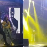 "Watch The Moment Sarkodie 'Panicked' When KOD Invited Shatta Wale On Stage During Obrafour's ""Pae Mu Ka"" At 20 Concert"