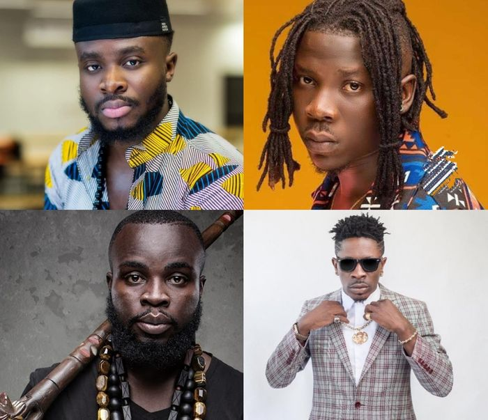 Fuse ODG, Stonebwoy, Manifest And Shatta Wale Are Not GRAMMY Nominees